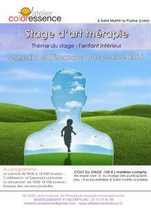 Stage de thérapie artistique Atelier Coloressence Saint Martin la Plaine