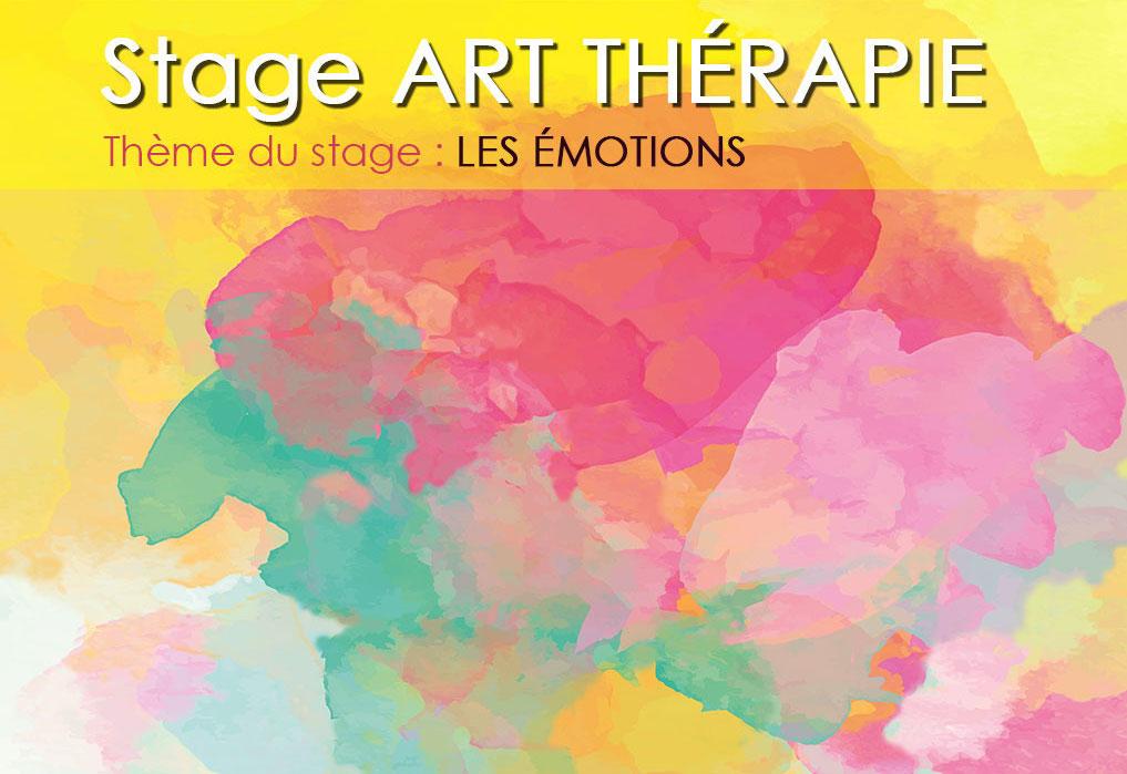 Stage  art thérapie 10-11 juin 2017 : les émotions