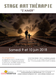 atelier d'art thérapie weekend-art therapie-juin 2018