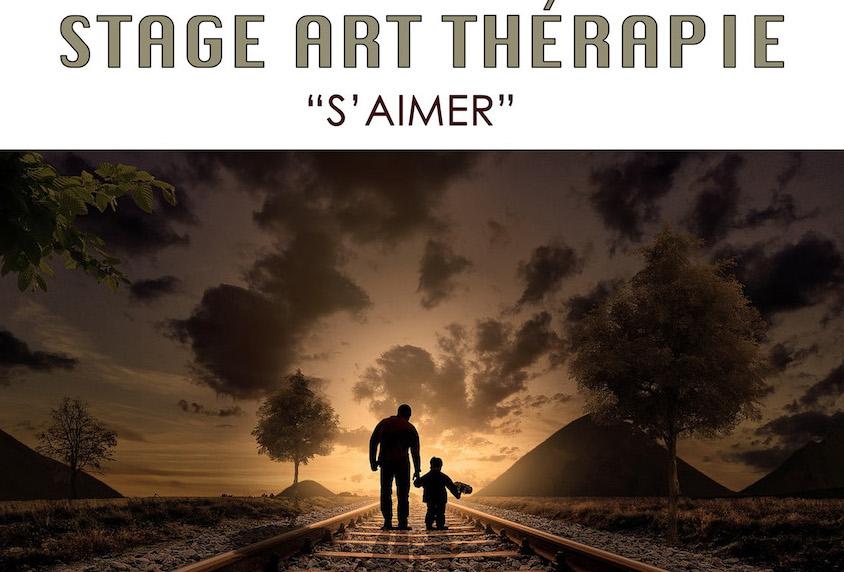 Atelier d'art thérapie 9-10 juin 2018 : S'AIMER