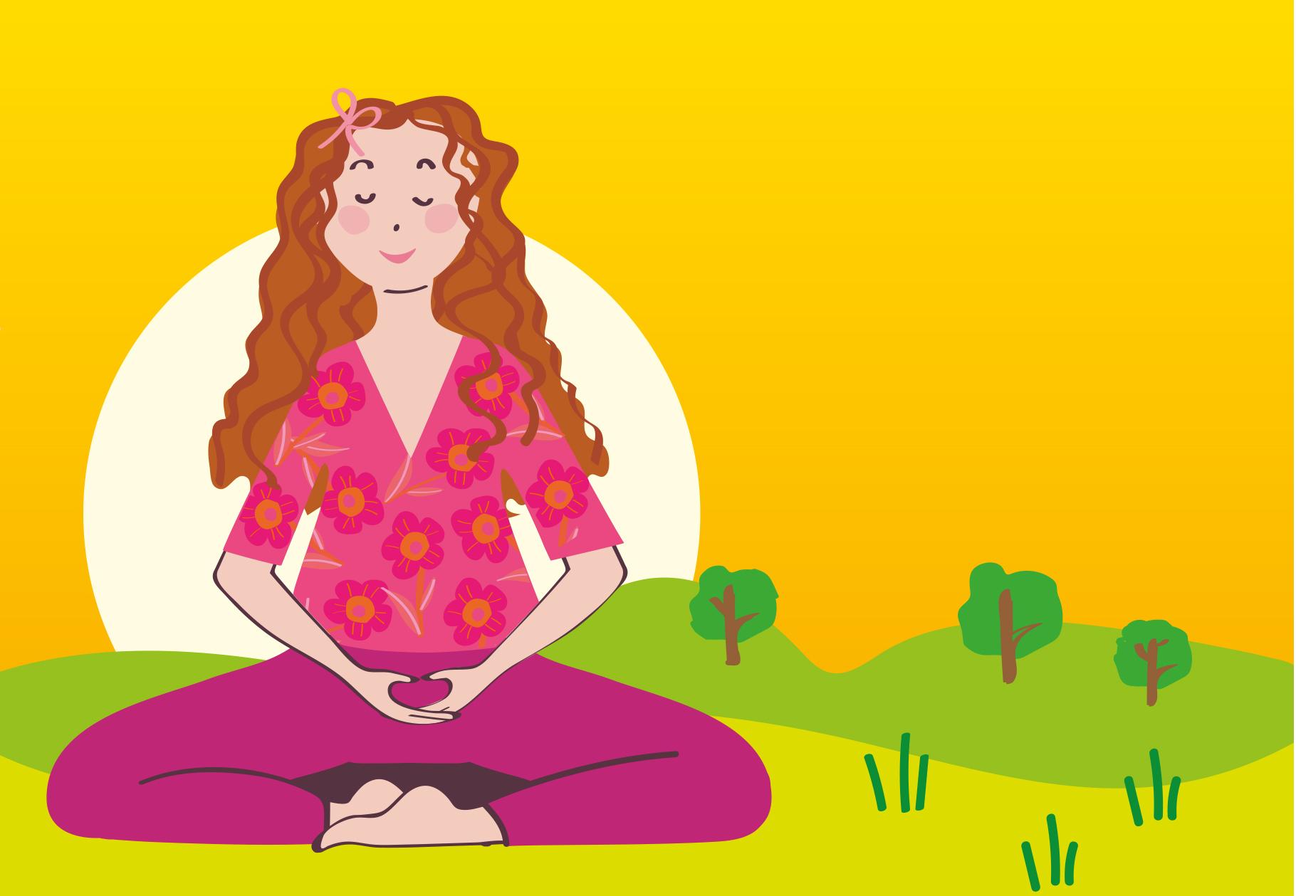 Pratique hebdomadaire de la méditation silencieuse