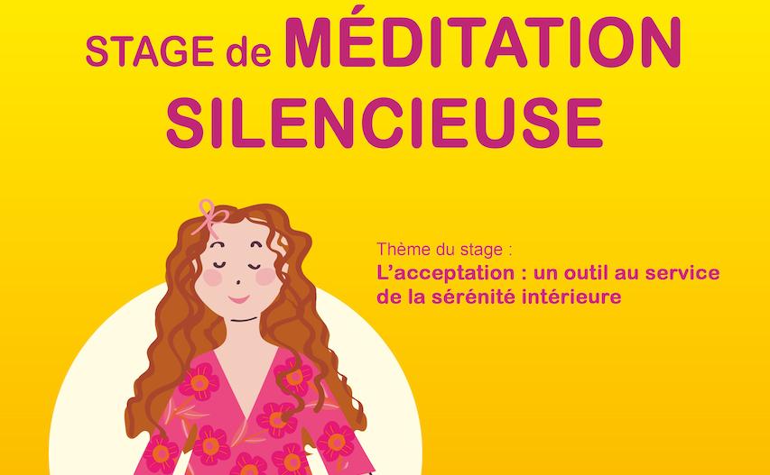 Stage de méditation silencieuse : mai 2019